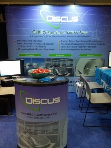 DISCUS at the MFG4 Tradeshow